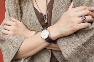 Traveler Beige - Brown Wristband - BOCA MMXII - Official website