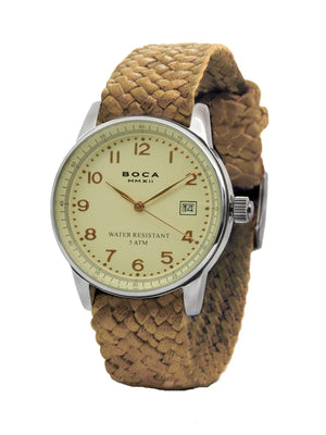 Traveler Beige - Camel Wristband - BOCA MMXII - Official website