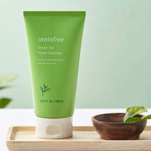 Sabonete Facial  Green Tea Cleansing Foam - Innisfree
