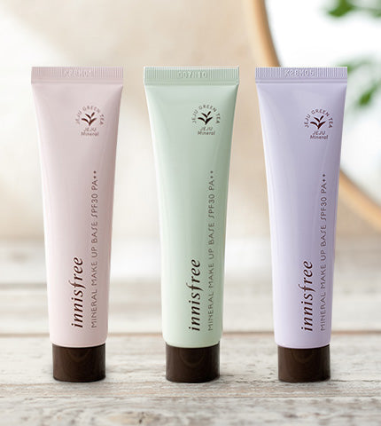 Base Mineral Make Up  - Innisfree