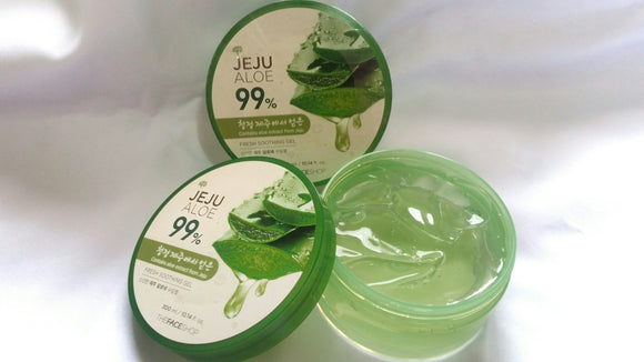 Hidratante Jeju Aloe 99% - The Face Shop