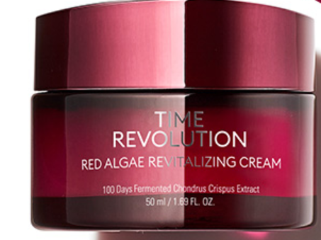 Hidratante Time Revolution Red Algae Revitalizing Cream - Missha