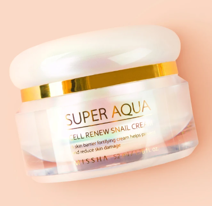 Hidratante Super Aqua Cell Renew Snail Cream - Missha