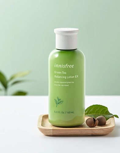 Hidratante Green Tea Balancing Lotion EX  - Innisfree
