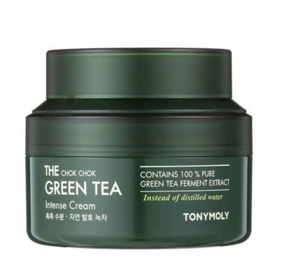 Hidratante The Chok Chok Green Tea Intense Cream - Tony Moly