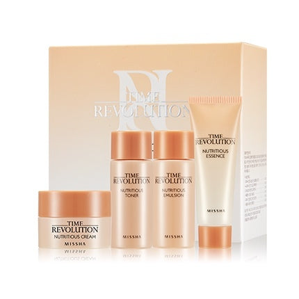 Kit Hidratante Time Revolution Nutritious Miniature Set - Missha