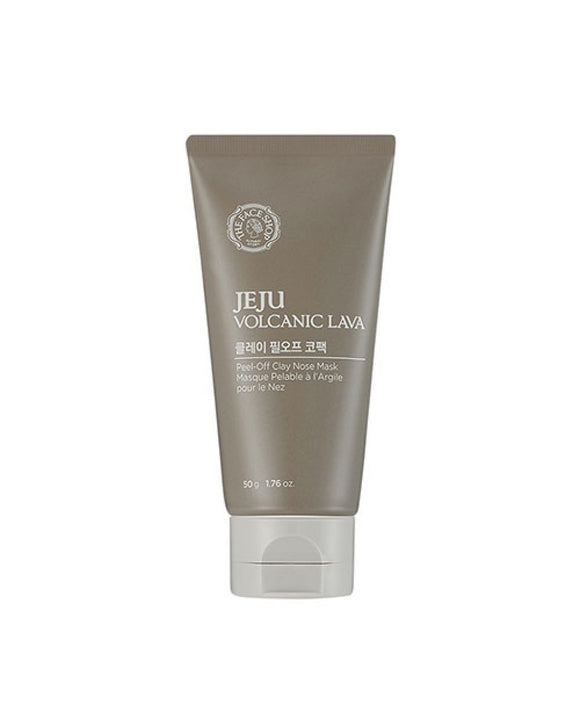 Máscara Facial Jeju Volcanic Lava Peel Off Clay Nose Mask - The Face Shop