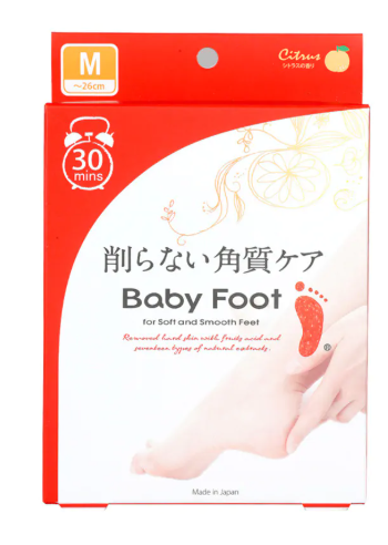 Máscara Baby Foot
