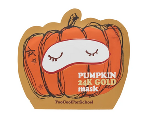 Máscara Pumpkin 24K Gold  - Too Cool for School
