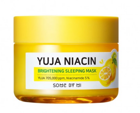 Máscara de Dormir Mi Yuja Niacin Brightening Sleeping Mask - Some By Mi