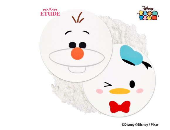 Pó Disney Tsum Tsum Zero Sebum Drying Powder - Etude House