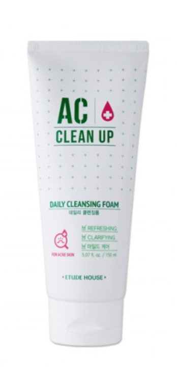 Sabonete  Facial AC Clean Up Daily - Etude House