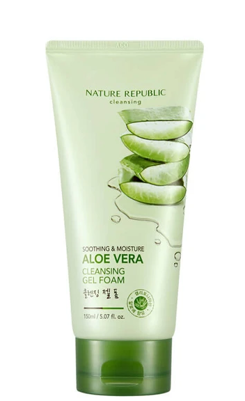 Sabonete  Facial Aloe Vera Cleansing  - Nature Republic