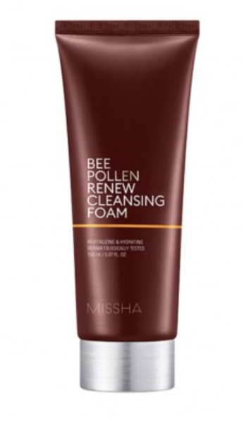 Sabonete Facial Bee Pollen Renew Cleansing Foam - Missha