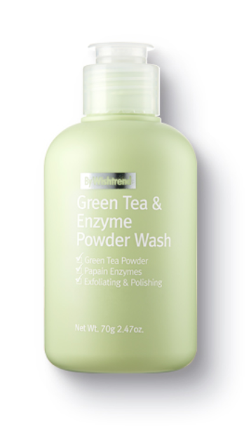 Sabonete Facial Green Tea & Enzyme Powder Wash - By Wishtrend