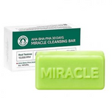 Sabonete Facial AHA BHA PHA 30 Days Miracle Cleansing Bar  - Some By Mi
