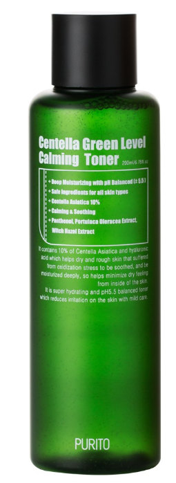 Tratamento Centella Green Level Calming Toner - Purito