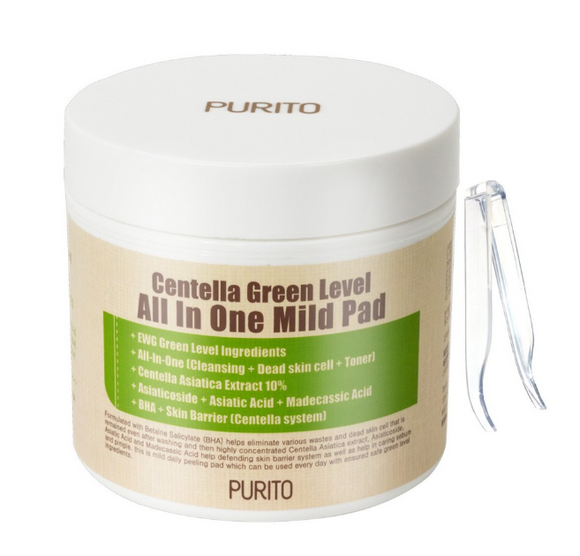 Tratamento Centella Level All In One Mild Pad - Purito