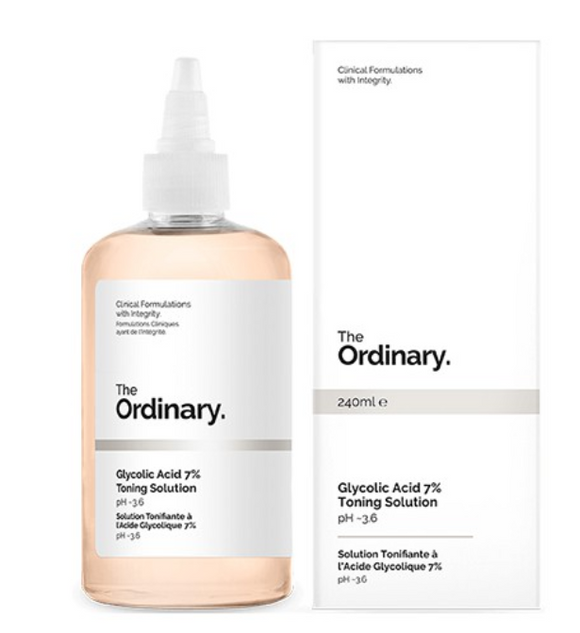 Tratamento Glycolic Acid 7% Toning Solution - The Ordinary