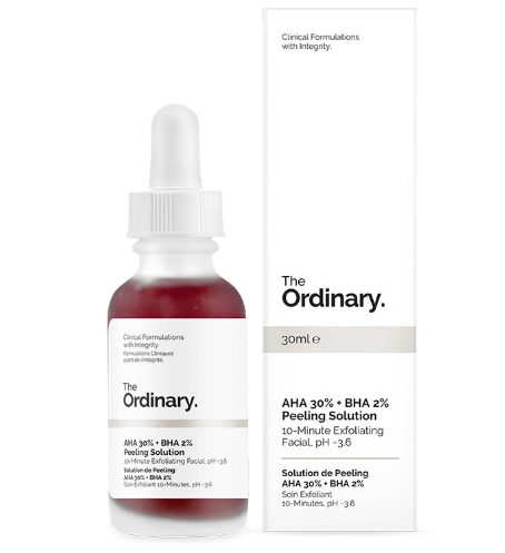 Tratamento AHA 30% + BHA 2% Peeling Solution - The Ordinary