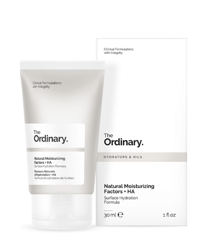 Tratamento Natural Moisturizing Factors + HA - The Ordinary