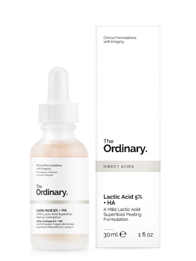 Tratamento  Lactic Acid 5% + HA 2% - The Ordinary