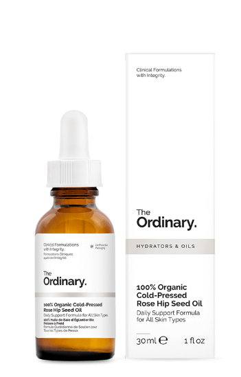 Tratamento 100% Organic Cold-Pressed Rose Hip Seed Oil - The Ordinary