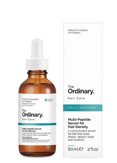 Tratamento Multi-Peptide Serum For Hair Density - The Ordinary