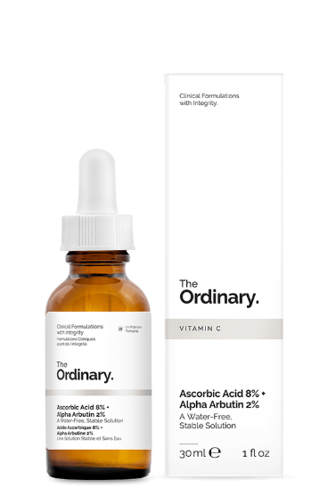 Tratamento Ascorbic Acid 8% + Alpha Arbutin 2% - The Ordinary