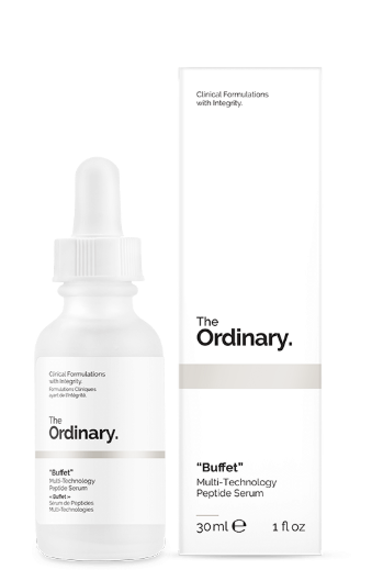 Tratamento Buffet Multi-Technology Peptide Anti Ageing Serum - The Ordinary