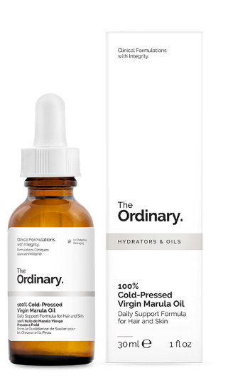 Tratamento 100% Cold-Pressed Virgin Marula Oil - The Ordinary