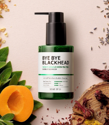 Tratamento Bye Bye Blackhead 30Days Miracle Green Tea Tox Bubble Cleanser - Some By Mi