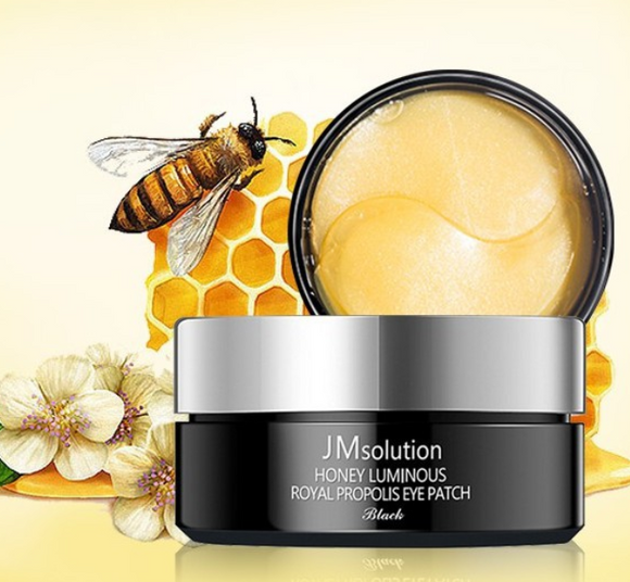 Tratamento Honey Luminous Royal Propolis Eye Patch Black - JM Solution