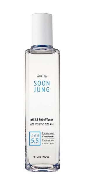 Tratamento Soon Jung PH 5.5 Relief Toner - Etude House