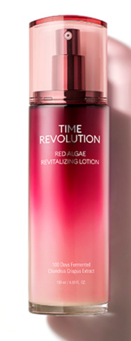 Tratamento Time Revolution Red Algae Revitalizing Lotion - Missha