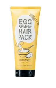 Tratamento  Egg Remedy Hair Pack - - Too Cool For School