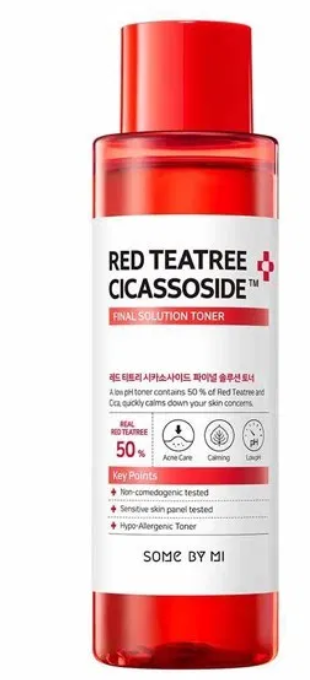 Tratamento Red TeaTree Cicassoside Final Solution Toner - Some By Mi