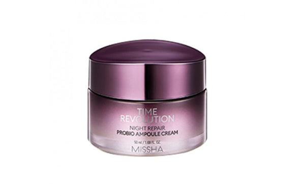 Tratamento Time Revolution Night Repair Probio Ampoule Compression Cream 4th Generation - Missha
