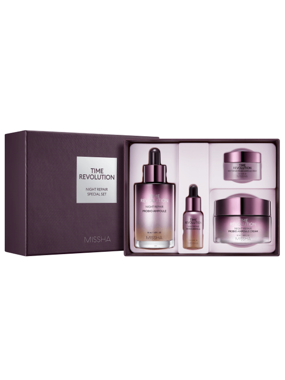 Kit Time Revolution Night Repair 2 Set - Missha