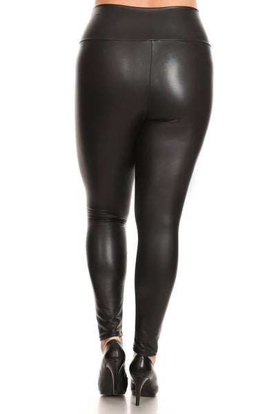 Plus Size High Waisted Leggings