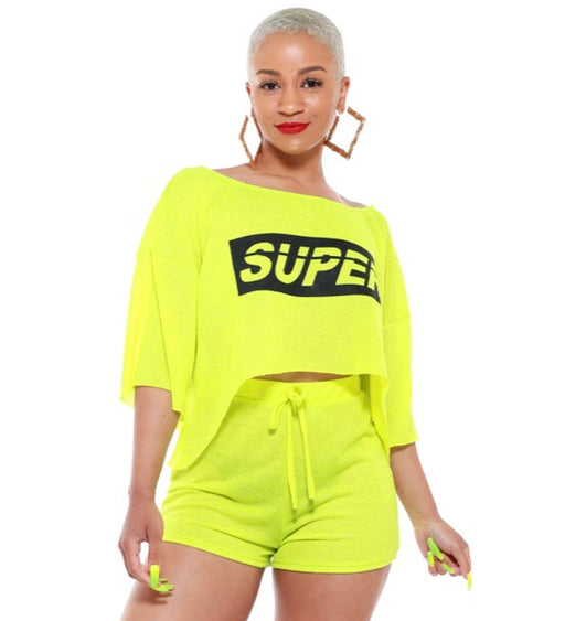 """SUPER"" Top/Short Set"