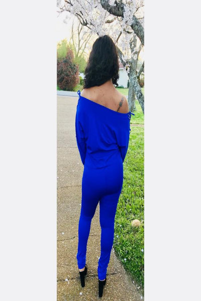 Scoop Neckline Jumpsuit