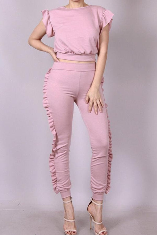 Blush Jogging Suit