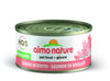 Almo Nature Cat HQS Natural Salmon in Broth 24 Cans 2.47 oz 70 g