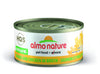 Almo Nature Cat HQS Natural Salmon And Chicken in Broth 24 Cans 2.47 oz 70 g