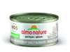 Almo Nature Cat HQS Natural Tuna And Whitebait Smelt in Broth 24 Cans 2.47 oz 70 g
