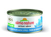 Almo Nature Cat HQS Natural Tuna in Broth Atlantic Style 24 Cans 2.47 oz 70 g