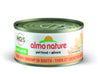 Almo Nature Cat HQS Natural Tuna Shrimp in Broth 24 Cans 2.47 oz 70 g