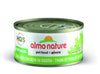 Almo Nature Cat HQS Natural Tuna and Chicken in Broth 24 Cans 2.47 oz 70 g