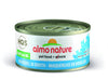 Almo Nature Cat HQS Natural Mackerel in Broth 24 Cans 2.47 oz 70 g